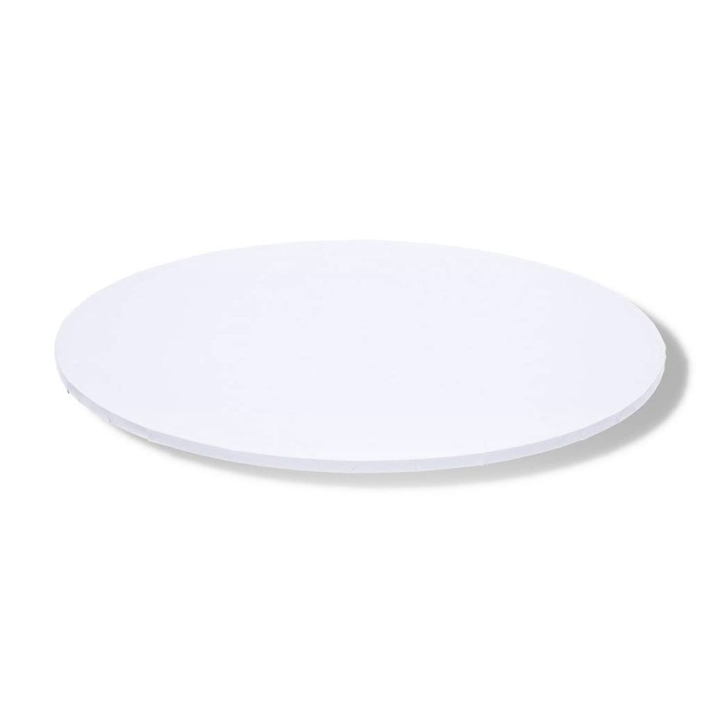 10″ White Matt Round Cake Board