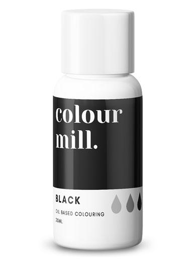 BLACK OIL COLOUR 20ml