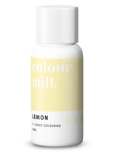 Lemon Colour Mill 20ml