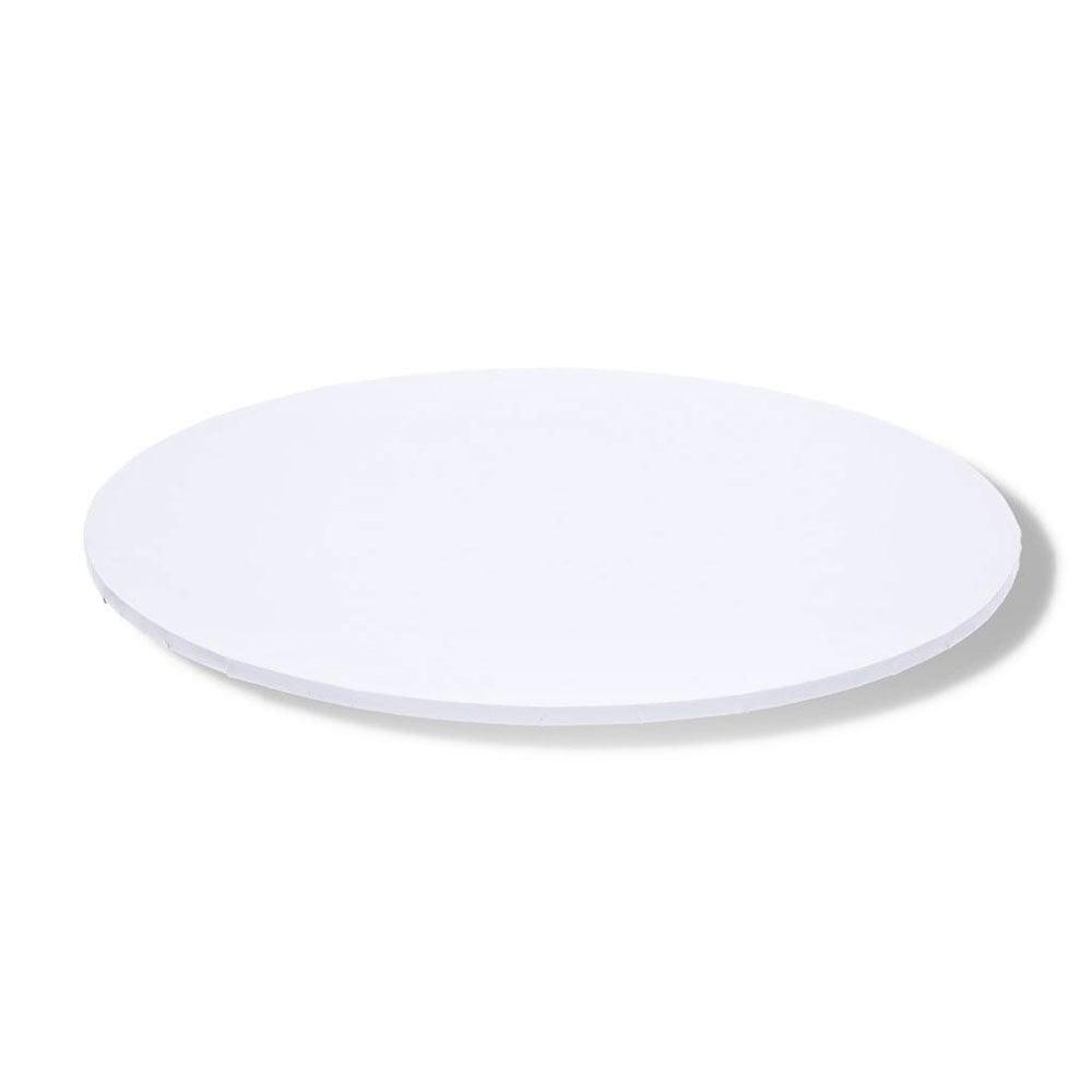 8″ White Matt Round Cake Board